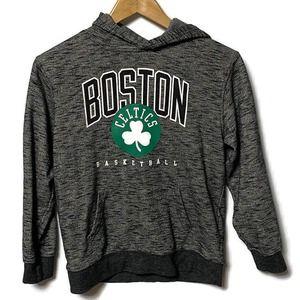 NBA Boston Celtics Gray Hoodie L 14/16
